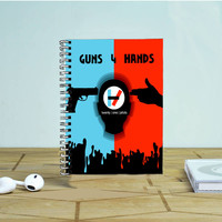 Twenty One Pilots Gun 4 Hand Photo Notebook Auroid