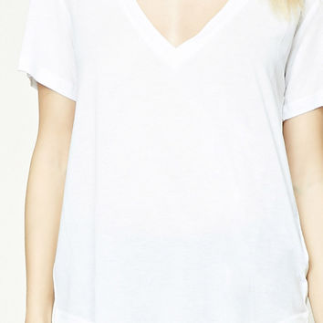 Contemporary V-Neck Tee