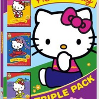 Hello Kitty Triple Pack (goes to the movies, saves the day, plays pretend)