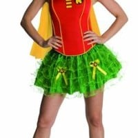DC Comics Secret Wishes Robin Corset And Tutu Costume