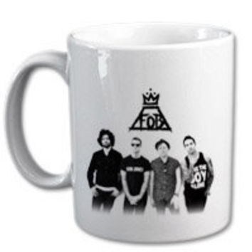 FALL OUT BOYS mug for coffee lover.