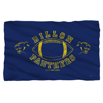 FRIDAY NIGHT LIGHTS/DILLON PANTHERS - FLEECE BLANKET - WHITE - 36x58