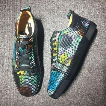DCCK2 Cl Christian Louboutin Low Style #2004 Sneakers Fashion Shoes