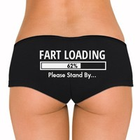 Stand By Fart Loading: Dirty Laundry Underwear
