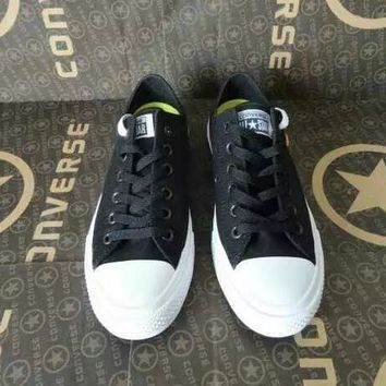 CREYUG7 Converse Chuck Taylor All Star II' Unisex Sport Casual Low Help Shoes Canvas Shoes Co