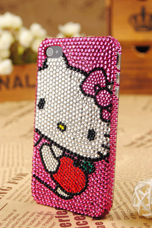 iPhone 4th Generation Kitty Protective Skin Cover