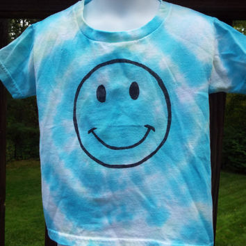 Smiley Face Shirt, 4T Smiley Face Tie Dye, 4T Tie Dye, Happy Face, Smiley Face Tshirt, Hippie Kids, Smile, Toddler Hippie, Toddler Tie Dye