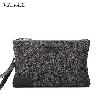 New Fashion Clutch Luxury Wallet Leather Clutch Wallets Handy Bags Business Bag Men Wallets Men Can Hold iPad