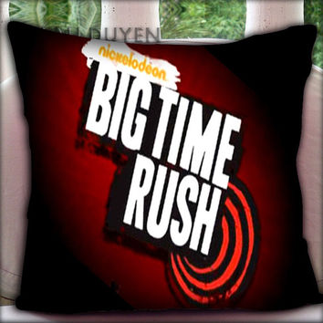 Big Time Rush Logo - Pillow Cover Pillow Case and Decorated Pillow.