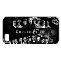 CTSLR Movie & Teleplay Series Black Protective Hard Case Cover for iPhone 5 - 1 Pack - Downton Abbey - 4