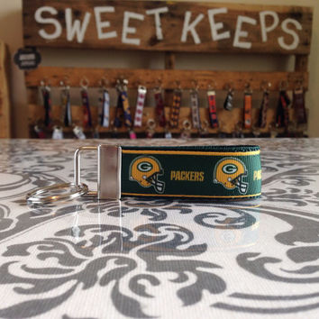 Greenbay Packers Inspired Keychain Fob
