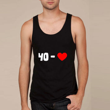 tennis - 40 - LOVE (2 colors) - tennis-shirts.net Tank Top