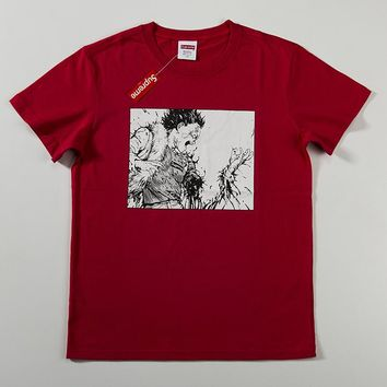 Cheap Women's and men's supreme t shirt for sale 85902898_0143