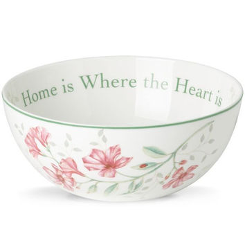 Lenox Butterfly Meadow® Where the Heart Is Bowl