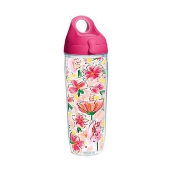 Ashley Brooks Design Tervis Water Bottle - Painted Floral