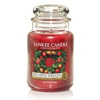 Yankee Candle Red Apple Wreath Large Jar Candle - Yankee Candle from Love Aroma UK