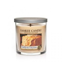 Pumpkin Buttercream : Small Tumbler Candle (single Wick) : Yankee Candle