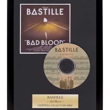 Bastille - Framed Presentation CD Disc Display