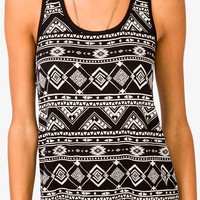 Tribal-Inspired Tank