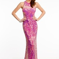 Sequin and Beaded Dress