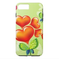 Colorful Hearts iPhone 7 Plus Case