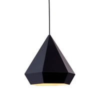 Finisterre Ceiling Lamp in Black