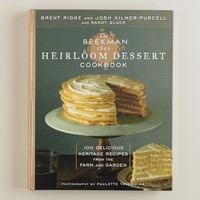 """The Beekman 1802 Heirloom Dessert Cookbook"" - World Market"