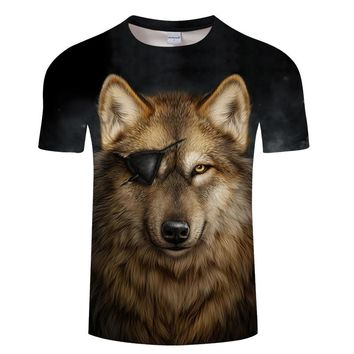 Wolf Eye Patch Tee