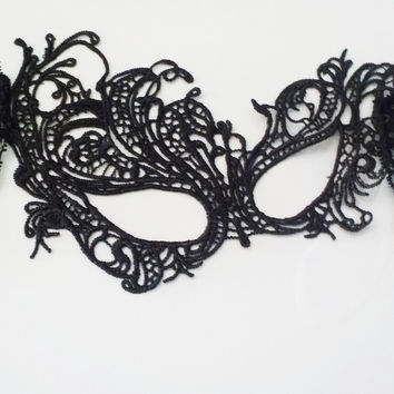 Floral Masquerade Eye Mask