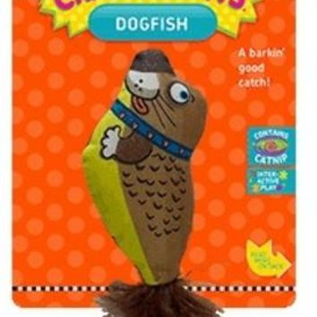 Sergeant's Crazy Claws Fish Tales Cat Toy 1 count - 12 Units