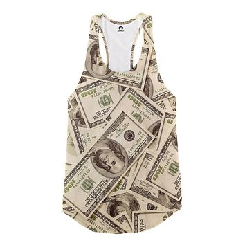 Cash Money Racerback Tank Top