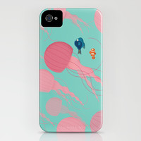 Just Keep Swimming iPhone & iPod Case by Jay Fleck