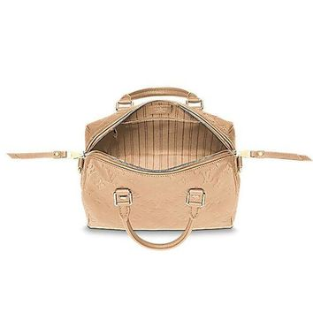 ESBONIA Louis Vuitton Speedy Bandouli¨¨re 25 Cross Body Leather Handles Bag Article: M41192 Made in France