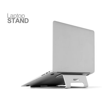 Aluminum Laptop Stand Tablet Holder Cooling Desk Pad Notebook Metal Bracket For Laptap for MacBook Pro Air 11  to 15 inch