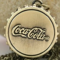 7 Weapons Coke Cover Pocket Watch:Amazon:Everything Else