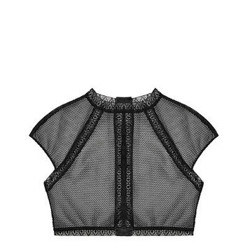 Fishnet Lace Top - Very Sexy - Victoria's Secret