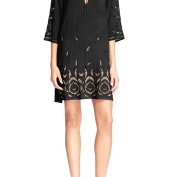 Alice + Olivia 'Morgana' Floral Lace Shift Dress | Nordstrom