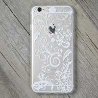 Lace Lucky Grass Cover Case for iPhone 5s 5se 6 6s Plus Gift + Gift Box