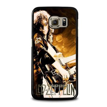 led zeppelin samsung galaxy s6 case cover  number 1