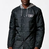 Vans Santiago Quilted Jacket - Mens Jacket - Black