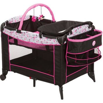 Disney Baby Minnie Mouse Sweet Wonder Play Yard, Garden Delight - Walmart.com