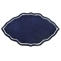 Indigo & White Signature Bath Rug by John Robshaw
