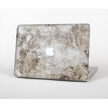 The Vintage Scratched and Worn Surface Skin Set for the Apple MacBook Pro 13""