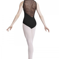 Mirella Women's Asymmetrical back leotard