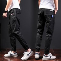 Casual Summer Black Pants [290339684381]