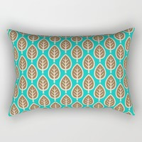 Leafage Rectangular Pillow by All Is One