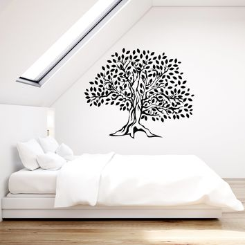 Vinyl Wall Decal Tree Leaves Home Room Beautiful Decor Art Stickers Mural (ig5649)