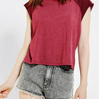 Urban Outfitters - Truly Madly Deeply Raglan Muscle Tee