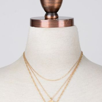 II Medallions Necklace