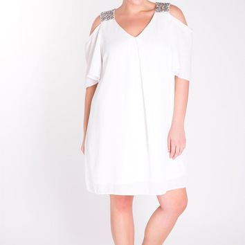 Jaylee Cold Shoulder Dress